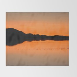 Salar de Uyuni 4 Throw Blanket
