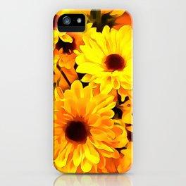 Daisies Yellow 3 iPhone Case