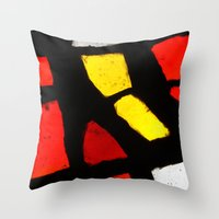 Light and Color Throw Pillow