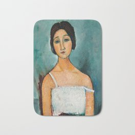 "Amedeo Modigliani ""Christina"" Bath Mat"