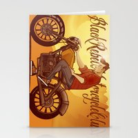 rebel Stationery Cards featuring Rebel by Salva Laserna