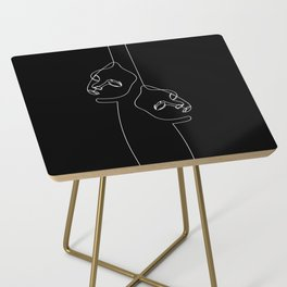 Two faced Side Table