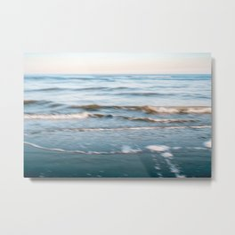 Goodmorning ocean | Fine art beach photography print | The Netherlands Metal Print