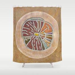 Tribal Maps - Magical Mazes #03 Shower Curtain