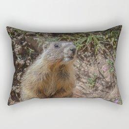 Baby Marmot Rectangular Pillow
