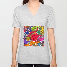 Jigsaw Germs Unisex V-Neck
