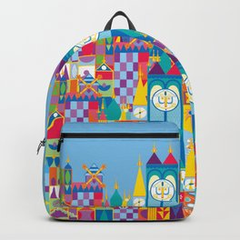 It's A Small World - Theme Park Inspired Backpack