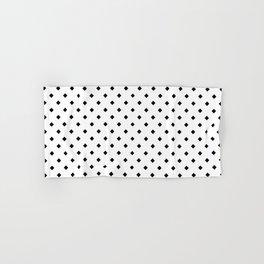 Black Diamond Pattern Hand & Bath Towel