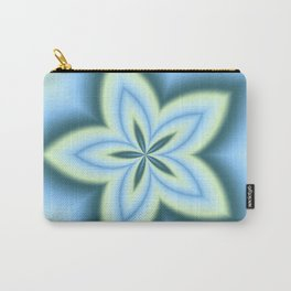 String Art Flower in MWY 01 Carry-All Pouch