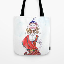 MARIA FROM MADEIRA, PORTUGAL Tote Bag