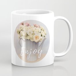 Pastel wedding roses in the pot - the day of Venus - flowers photography Coffee Mug