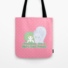 Summons are a Girl's Best Friend Tote Bag