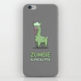 Zombie Alpacalypse iPhone Skin