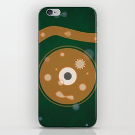 cell glance iPhone Skin