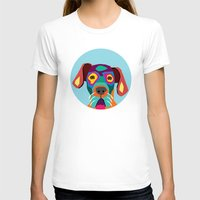 dog T-shirts featuring dog by ron ashkenazi