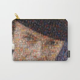 David Bowie Mosaic Art Carry-All Pouch