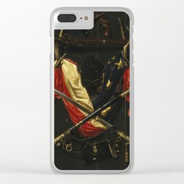 Emblems of the Civil War by Alexander Pope Clear iPhone Case
