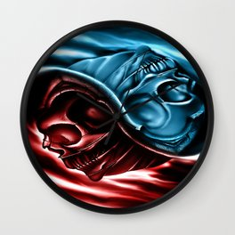 The two races Wall Clock