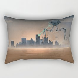 Alien Attack Rectangular Pillow