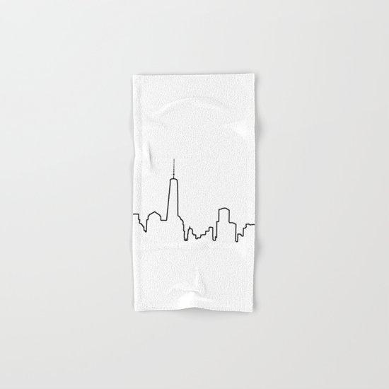 New York Life Line Hand & Bath Towel
