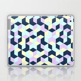 Jagged Colour Jumble Laptop & iPad Skin
