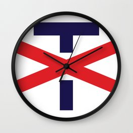 Trump, Not My President Wall Clock