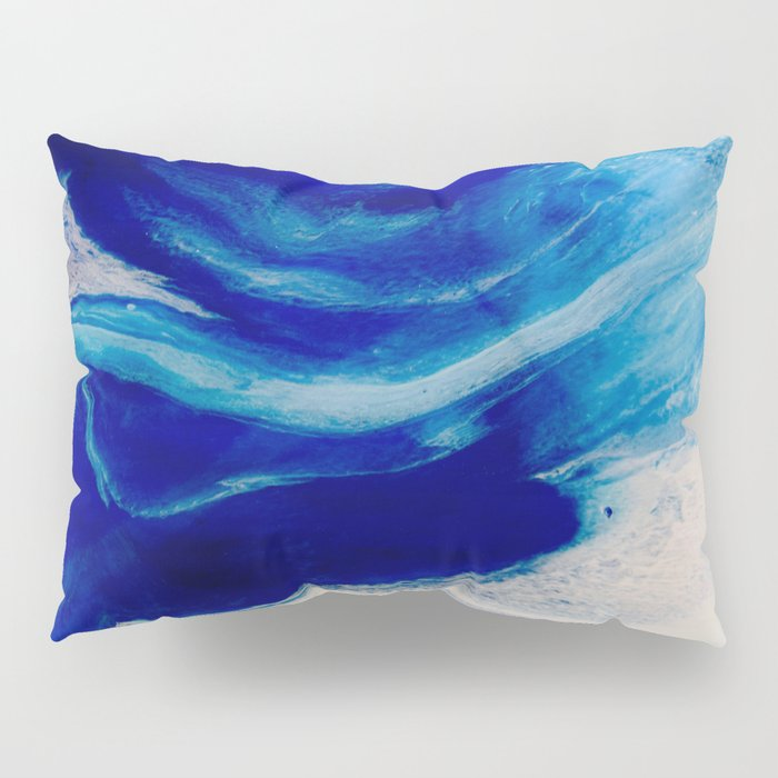 Blue Inlet Pillow Sham