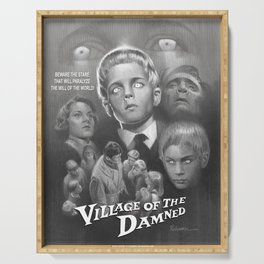 Village of the Damned (1960) Serving Tray