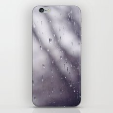 Rain drops. iPhone & iPod Skin