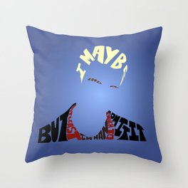 Spike - Buffy the vampire slayer Throw Pillow