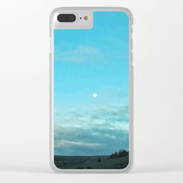 Moony Clear iPhone Case