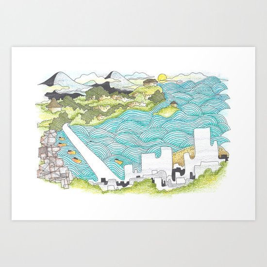 Nha Trang Art Print