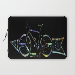Psychedelic Bicycle Laptop Sleeve