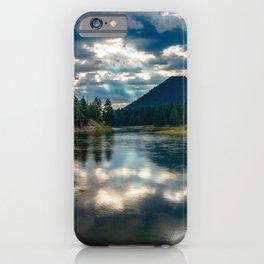 Snake River Revival - Morning Along Snake River in Grand Tetons iPhone Case