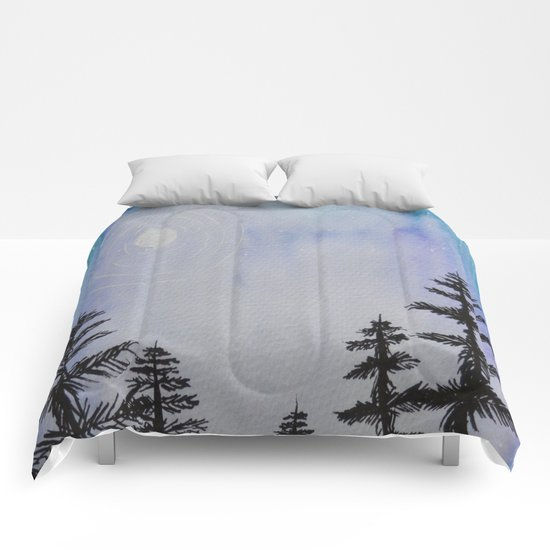 Winter Trees  Comforters