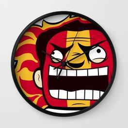 Calgary Rabid Team Logo Wall Clock