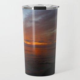 Ocean Orange Travel Mug