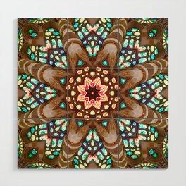 Sagrada Familia - Vitral 1 Wood Wall Art
