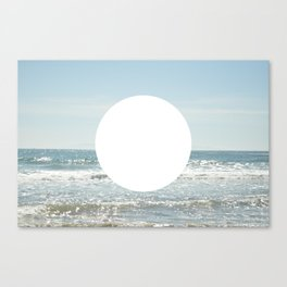 Not even the sun, Not even the moon ( - space ) Canvas Print