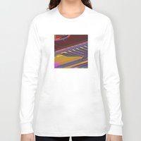 data Long Sleeve T-shirts featuring Data Path by dBranes