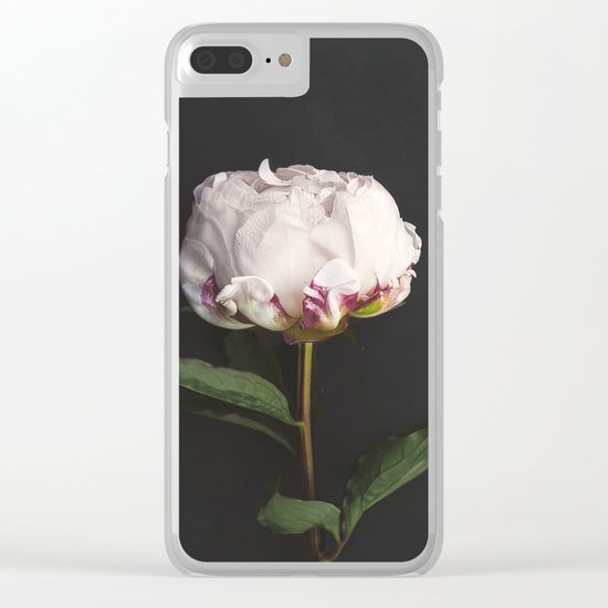 Peony - simply perfect Clear iPhone Case