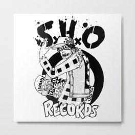skate trash hip Metal Print