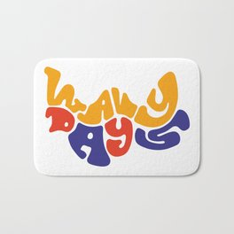 Wavy Days Bath Mat