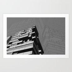 Southbank Flats Art Print