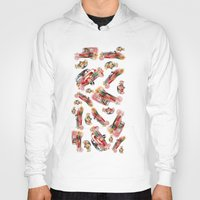 psychadelic Hoodies featuring cars  by mark ashkenazi