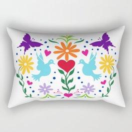 The Love Birds Rectangular Pillow