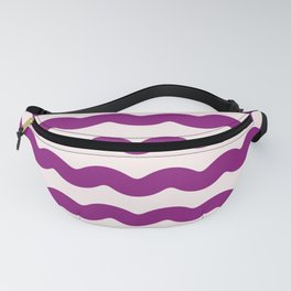 2019 Color: Orchid Blood in Waves Fanny Pack