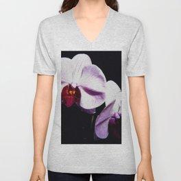 Purple Orchids Unisex V-Neck