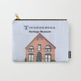 Ticonderoga Heritage Museum (front) Carry-All Pouch