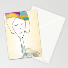 She was known for her interesting hats. Stationery Cards
